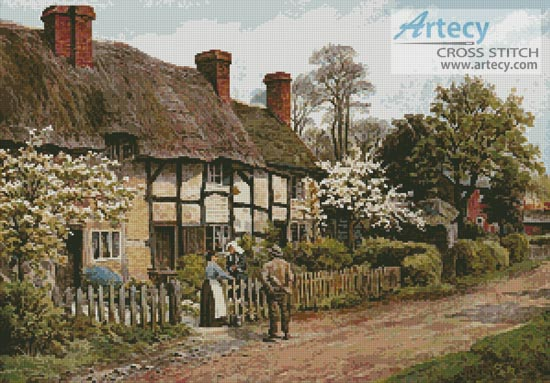 Welford on Avon, Gloucester - Cross Stitch Chart