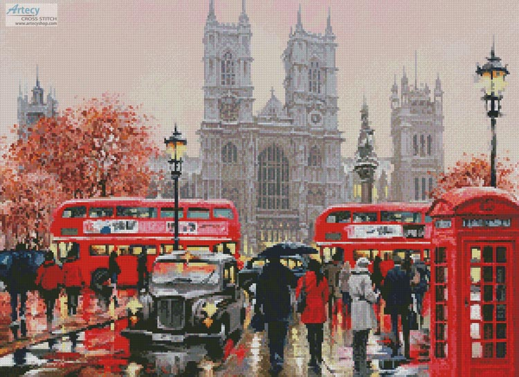 Westminster Abbey - Cross Stitch Chart