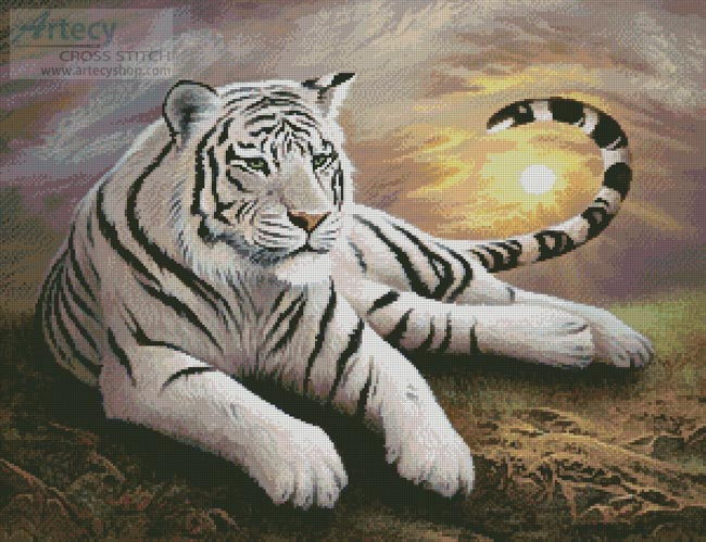White Dawn - Cross Stitch Chart