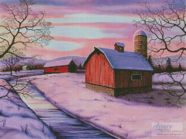 Winter in New England - Cross Stitch Chart