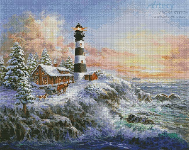 Winter Majesty - Cross Stitch Chart