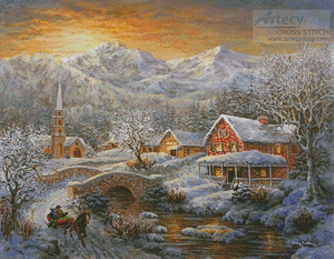 Winter Merriment - Cross Stitch Chart