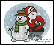 Xmas Card 3 - Cross Stitch Chart