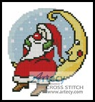 Xmas Card 4 - Cross Stitch Chart