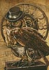 Medium Steampunk Owl - Cross Stitch Chart
