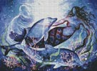 Mermaid - Cross Stitch Chart