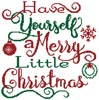 Merry Little Christmas - Cross Stitch Chart
