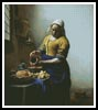Milkmaid - Cross Stitch Chart