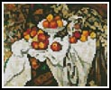 Mini Apples and Oranges - Cross Stitch Chart