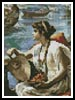 Mini A Roman Boat Race - Cross Stitch Chart