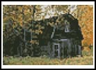 Mini Autumn Barn - Cross Stitch Chart