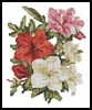 Mini Azaleas - Cross Stitch Chart