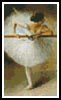Mini Ballerina - Cross Stitch Chart