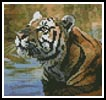 Mini Bengal Tiger - Cross Stitch Chart