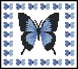 Mini Butterfly Sampler 2 - Cross Stitch Chart