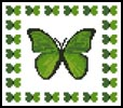 Mini Butterfly Sampler 3 - Cross Stitch Chart