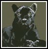 Mini Black Panther - Cross Stitch Chart