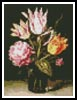 Mini Bouquet of Tulips - Cross Stitch Chart