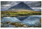 Mini Buachaille Etive Mor Glencoe - Cross Stitch Chart