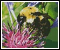 Mini Bumble Bee - Cross Stitch Chart