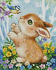 Mini Bunny and Bird - Cross Stitch Chart