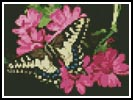 Mini Butterfly 3 - Cross Stitch Chart