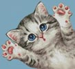 Mini Cat 49 - Cross Stitch Chart