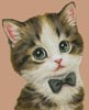 Mini Cat 67 - Cross Stitch Chart