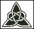 Mini Celtic Triangle - Cross Stitch Chart