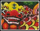 Mini Chinese Dragon - Cross Stitch Chart