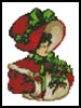 Mini Christmas Belle - Cross Stitch Chart