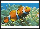 Mini Clownfish - Cross Stitch Chart