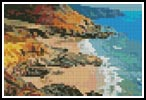 Mini Colourful Coast - Cross Stitch Chart