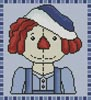 Mini Country Andy - Cross Stitch Chart