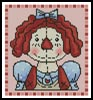 Mini Country Annie - Cross Stitch Chart