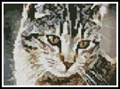Mini Cute Cat - Cross Stitch Chart
