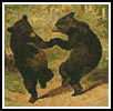 Mini Dancing Bears - Cross Stitch Chart