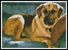 Mini Dog 6 - Cross Stitch Chart