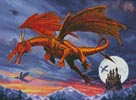 Mini Dragon Flight - Cross Stitch Chart