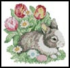 Mini Easter Bunny - Cross Stitch Chart