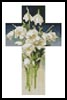 Mini Easter Cross - Cross Stitch Chart