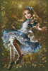 Mini Floating Alice - Cross Stitch Chart