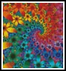Mini Fractal - Cross Stitch Chart