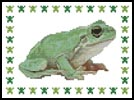 Mini Frog 1 - Cross Stitch Chart