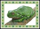 Mini Frog 2 - Cross Stitch Chart