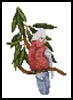 Mini Galah - Cross Stitch Chart
