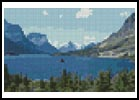 Mini Glacier Park - Cross Stitch Chart