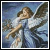 Mini Guardian Angel - Cross Stitch Chart