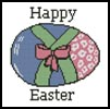 Mini Happy Easter - Cross Stitch Chart