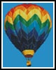 Mini Hot Air Balloon - Cross Stitch Chart